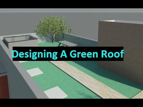 Beginner Tutorial 3 - Autodesk Revit 2016 - The Green Library Project - Designing a Green Roof