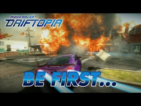 Ridge Racer Driftopia beta trailer features freakishly durable cars