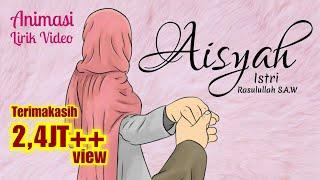 AISYAH ISTRI RASULULLAH - ANIMASI LIRIK - Projector Band | Cover