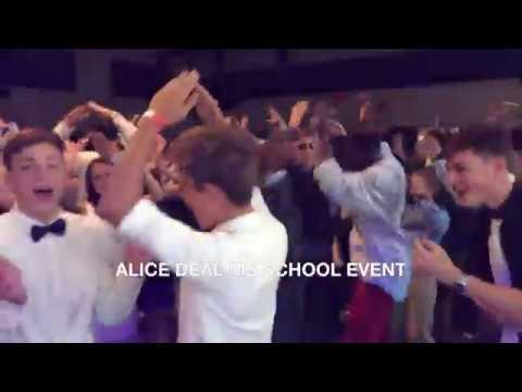 DJ MILLY-MIL @ school dance at Alice Deal Middle School (Washington, DC)