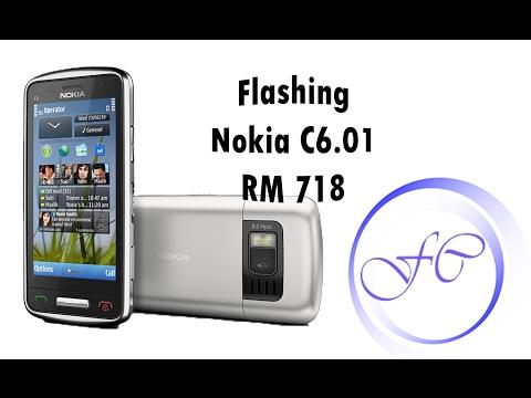 Flashing / Unlock Nokia C6.01 RM 718 | Proqramlaşdırma və Parol bərpası