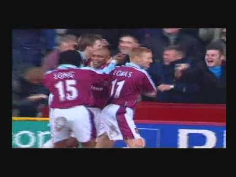 West Ham vs Charlton - Trevor Sinclair's 25 yard volley