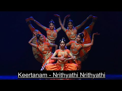 """Nrithyathi Nrithyathi"" Keertanam - Group presentation - Sridevi Nrithyalaya - Bharathanatyam Dance"