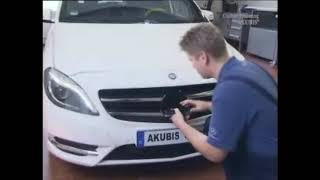 замена датчика collision prevention assist mercedes benz sensor replacement