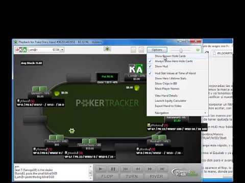 Cálculo de rangos con Poker Tracker 4 y Equilab