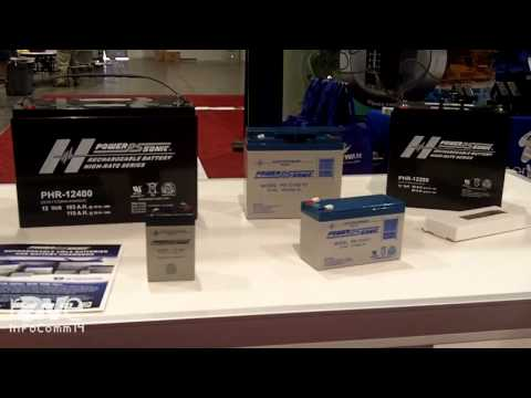 InfoComm 2014: Power-Sonic Talks About Their Range Of Battery Products