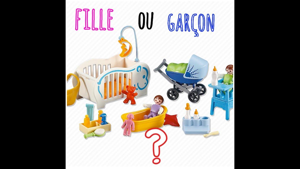 Film playmobil n 8 le b b youtube for Playmobil chambre bebe