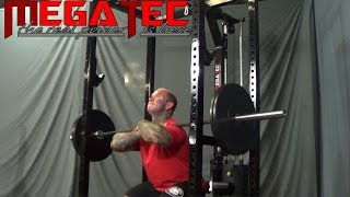 MEGATEC Power Rack Video with LEE PRIEST