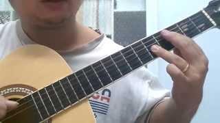 Hợp âm Maj7 - Hợp âm Minor7 - Hợp âm 7 Guitar nốt gốc trên dây số 4