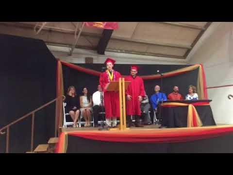 Will's 2018 Grad Speech - Coast Union High School