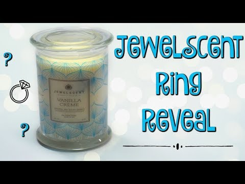 JewelScent Ring Reveal - Vanilla Creme Candle!