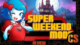 SUPER WEEKEND MODE - PS4 REVIEW (Video Game Video Review)