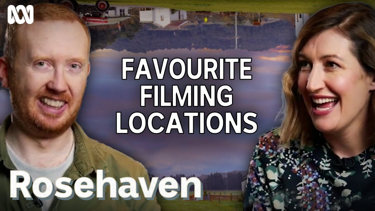 Download Luke McGregor and Celia Pacquola's favourite filming locations   Rosehaven