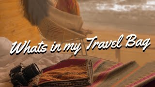 WHATS IN MY TRAVEL TOILETRIES BAG 💼 ✈️🌎 | Maryjane Byarm