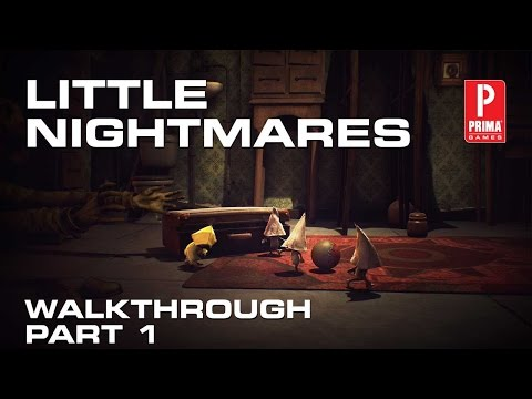 Little Nightmares Walkthrough - The Prison (Part 1)
