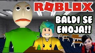 Baldi se Enoja | Baldi´s Basic in Education | Juegos Roblox Roleplay