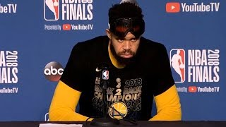 JaVale McGee Postgame Interview / Cavaliers vs Warriors Game 4 / 2018 NBA Finals