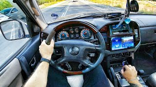 2002 Mitsubishi Montero 3.5 AT - POV TEST Drive / Тест драйв от первого лица
