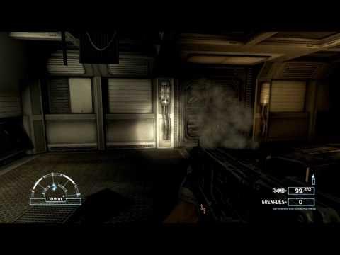 Gamers Curiosity - Let's Play Aliens vs Predator with Luke (Marine Part 3) (HD)