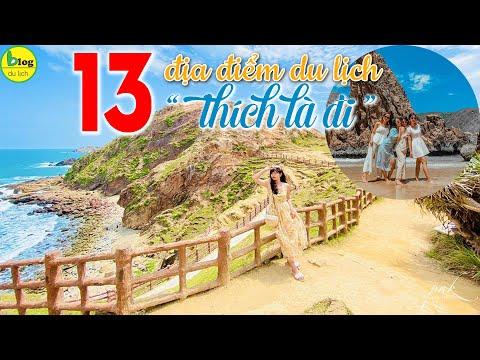 Top 13 địa điểm du lịch Việt Nam thích đi lúc nào cũng được