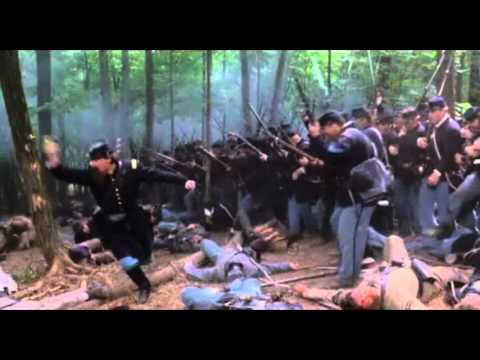 Gettysburg (1993) - Il 20° Maine carica alla baionetta a Little Round Top