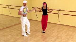 Сальса видео - Урок сальса №3 (Dile que si / dile que no)