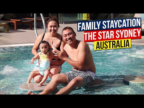 The Star Sydney: FAMILY STAYCATION | The Star Sydney Hotel, Sydney Australia