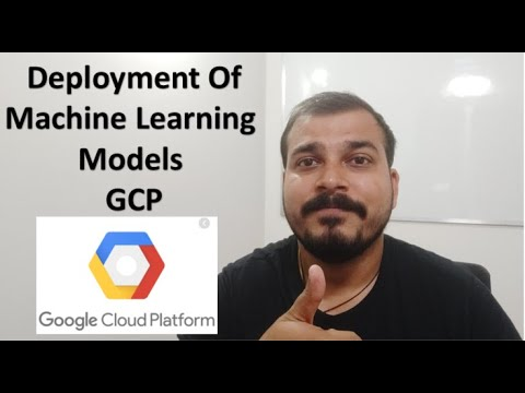 Tutorial 6 :Deployment of Machine Learning Models in Google Cloud Platform