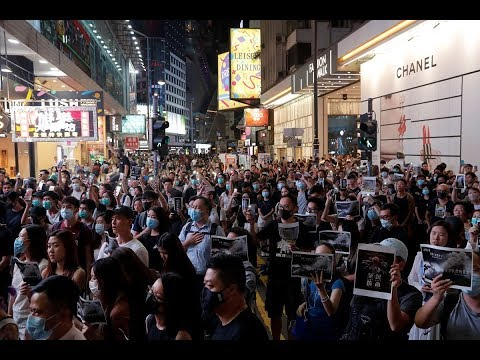 Pro-democracy demonstrators and Beijing fight for the future of Hong Kong