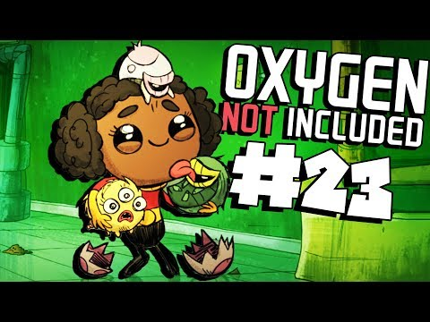 Crop Cooling Radiator! - Ep. 23 - Oxygen Not Included Ranching Upgrade Mark II