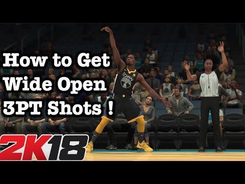 NBA 2K18 How To Shoot Tutorial Best Shooting Tips For Open 3 PT Shots Money Plays #42
