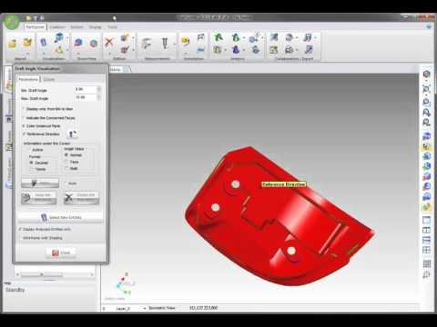 WorkXplore  - Measure and Analysis Draft Angles Измерения и анализ углов уклона