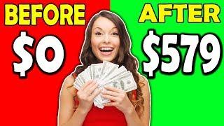EARN $579.00 WATCHING VIDEOS ONLINE (Easiest Way To Make Money Online!)