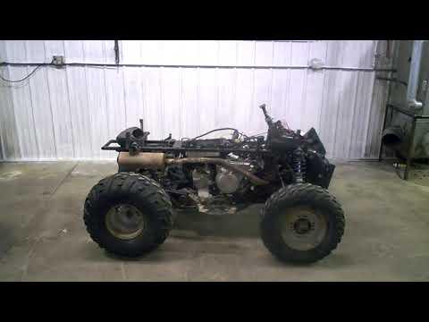 2001 Polaris 500 MAGNUM ATV 4X4 Engine Compression Test LOT 3443A
