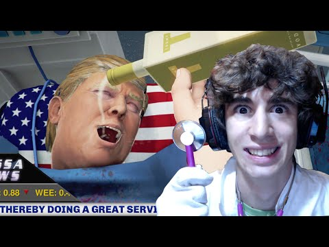 TRAPIANTO DI CUORE A DONALD TRUMP! (Surgeon Simulator)