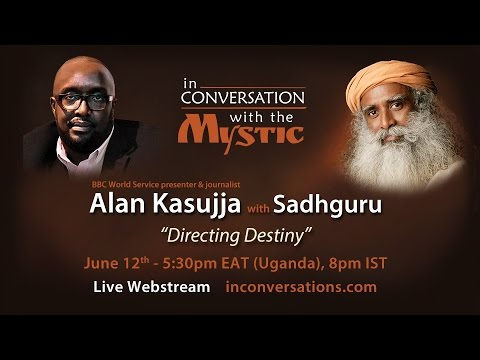 Alan Kasujja With Sadhguru on Directing Destiny