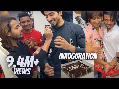 Shanuzz Salon Inauguration   Mr Faisu Haircut   Team 07  