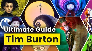 Tim Burton's Eccentric Set Design and Art Direction Explained
