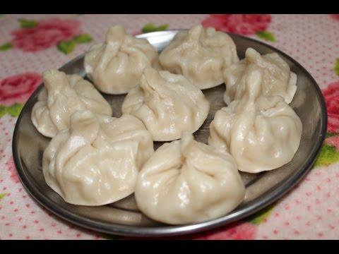 TASTY Chicken Momos at Home | Chicken Dumplings Recipe | Steamed & Fried Chicken Momos