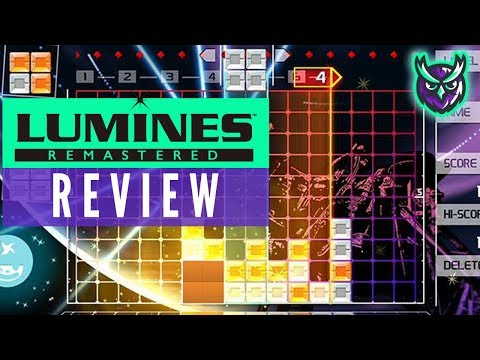 Lumines Remastered Nintendo Switch Review