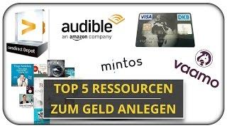 Meine Top 5 Ressourcen zum Thema Geld anlegen 🛠