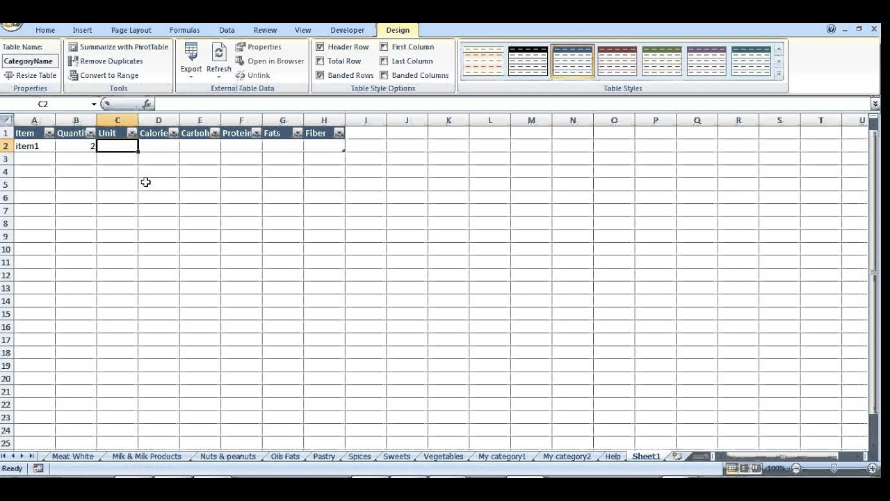 graphic about Calorie Count Sheet Printable titled Consuming diary and calorie counter in just Excel