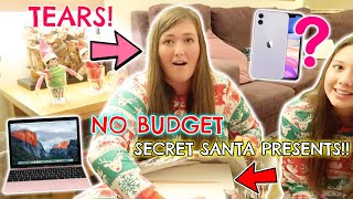 OPENING OUR NO BUDGET SECRET SANTA PRESENTS! CHRISTMAS EVE SPECIAL!