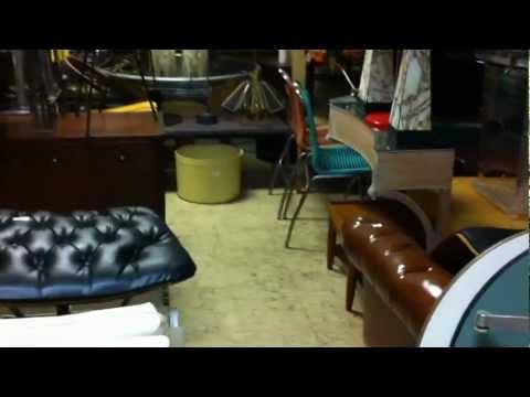 8/7/2012 Modern Design Auction UNCATALOG furniture walk through