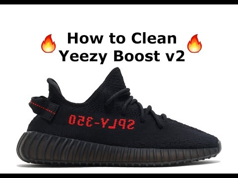 How to Clean Yeezy Boost 350 v2