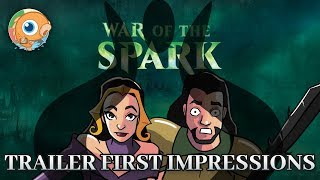 MTG War of the Spark Trailer: First Impression