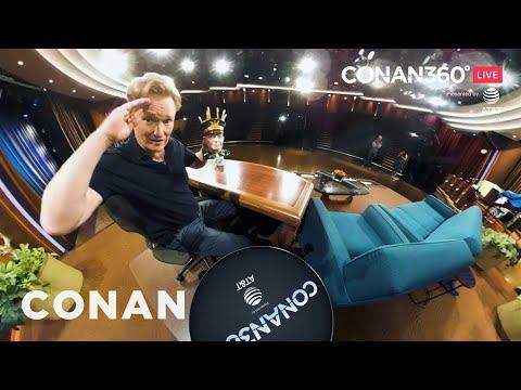 CONAN360° LIVE Highlight: Conan's Desk Tour