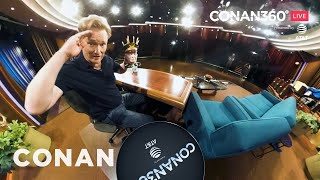 CONAN360° LIVE Highlight: Conan's Desk Tour