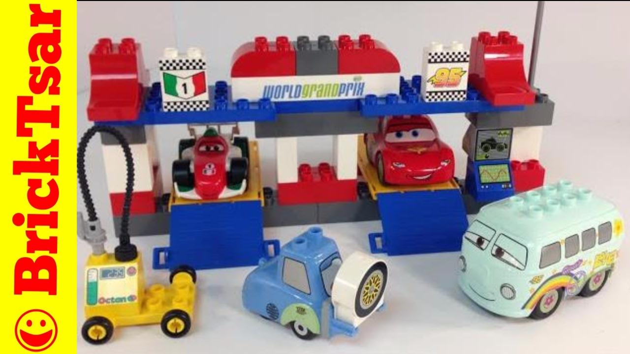 Disney Cars 2 Lego Duplo 5829 The Pit Stop Lightning Mcqueen