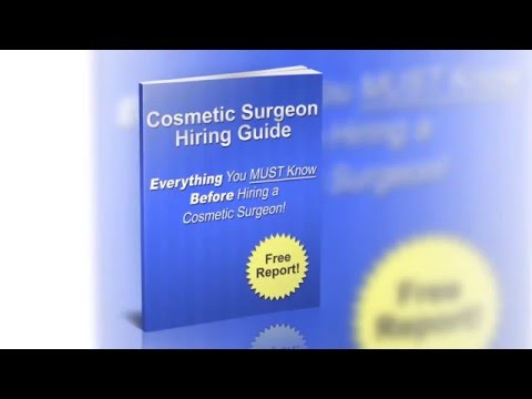 How To Find The Best Cosmetic Surgeons | Free Plastic Surgeons Guide